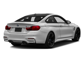 Mineral White Metallic 2017 BMW M4 Pictures M4 Coupe 2D M4 I6 Turbo photos rear view