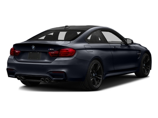 Azurite Black Metallic 2017 BMW M4 Pictures M4 Coupe 2D M4 I6 Turbo photos rear view