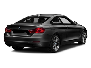 Jet Black 2017 BMW 4 Series Pictures 4 Series Coupe 2D 430xi AWD I4 Turbo photos rear view