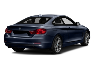 Imperial Blue Metallic 2017 BMW 4 Series Pictures 4 Series Coupe 2D 430xi AWD I4 Turbo photos rear view