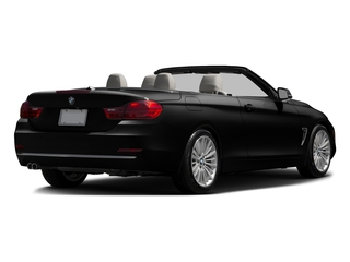 Black Sapphire Metallic 2017 BMW 4 Series Pictures 4 Series Convertible 2D 430i I4 Turbo photos rear view