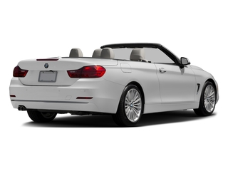 Mineral White Metallic 2017 BMW 4 Series Pictures 4 Series Convertible 2D 430xi AWD I4 Turbo photos rear view
