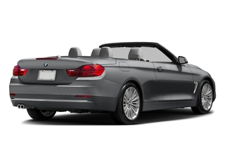 Mineral Gray Metallic 2017 BMW 4 Series Pictures 4 Series Convertible 2D 430i I4 Turbo photos rear view