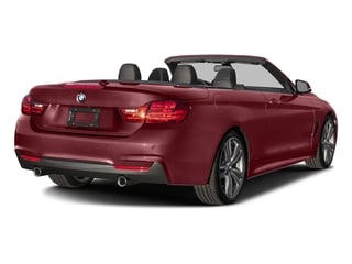 Melbourne Red Metallic 2017 BMW 4 Series Pictures 4 Series Convertible 2D 440i I6 Turbo photos rear view