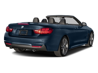 Midnight Blue Metallic 2017 BMW 4 Series Pictures 4 Series Convertible 2D 440i I6 Turbo photos rear view