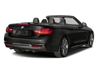 Citrin Black Metallic 2017 BMW 4 Series Pictures 4 Series Convertible 2D 440i I6 Turbo photos rear view