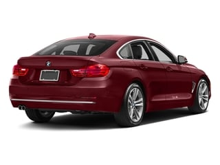 Melbourne Red Metallic 2017 BMW 4 Series Pictures 4 Series Sedan 4D 430xi AWD I4 Turbo photos rear view