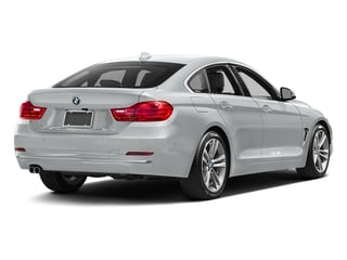 Glacier Silver Metallic 2017 BMW 4 Series Pictures 4 Series Sedan 4D 430xi AWD I4 Turbo photos rear view