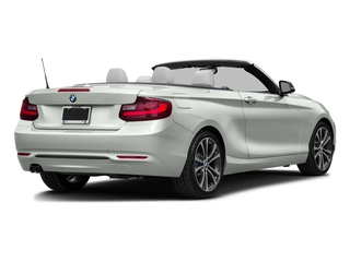 Alpine White 2017 BMW 2 Series Pictures 2 Series Convertible 2D 230xi AWD I4 Turbo photos rear view