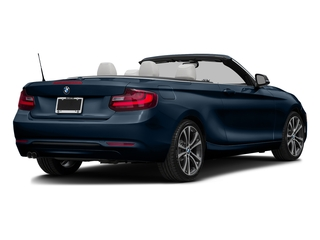 Midnight Blue Metallic 2017 BMW 2 Series Pictures 2 Series Convertible 2D 230xi AWD I4 Turbo photos rear view