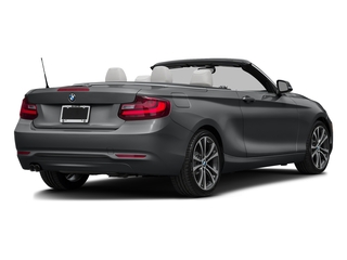 Mineral Gray Metallic 2017 BMW 2 Series Pictures 2 Series Convertible 2D 230xi AWD I4 Turbo photos rear view