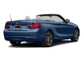 Estoril Blue Metallic 2017 BMW 2 Series Pictures 2 Series Convertible 2D 230xi AWD I4 Turbo photos rear view
