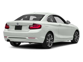 Alpine White 2017 BMW 2 Series Pictures 2 Series Coupe 2D 230xi AWD I4 Turbo photos rear view