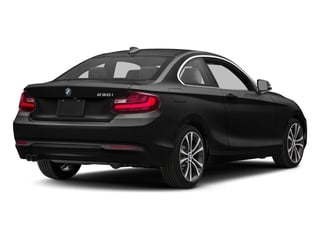 Jet Black 2017 BMW 2 Series Pictures 2 Series Coupe 2D 230xi AWD I4 Turbo photos rear view