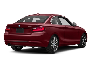 Melbourne Red Metallic 2017 BMW 2 Series Pictures 2 Series Coupe 2D 230xi AWD I4 Turbo photos rear view