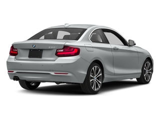 Glacier Silver Metallic 2017 BMW 2 Series Pictures 2 Series Coupe 2D 230xi AWD I4 Turbo photos rear view