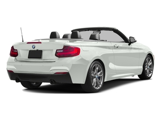 Alpine White 2017 BMW 2 Series Pictures 2 Series Convertible 2D M240i I6 Turbo photos rear view