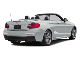 Glacier Silver Metallic 2017 BMW 2 Series Pictures 2 Series Convertible 2D M240i I6 Turbo photos rear view