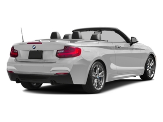 Mineral White Metallic 2017 BMW 2 Series Pictures 2 Series Convertible 2D M240i I6 Turbo photos rear view