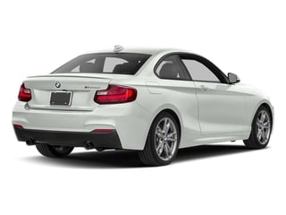 Alpine White 2017 BMW 2 Series Pictures 2 Series Coupe 2D M240i I6 Turbo photos rear view