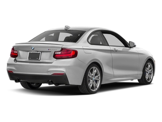 Mineral White Metallic 2017 BMW 2 Series Pictures 2 Series Coupe 2D M240i I6 Turbo photos rear view