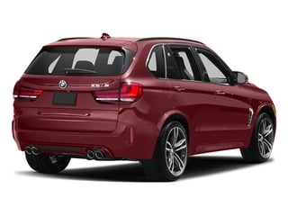 Melbourne Red Metallic 2017 BMW X5 M Pictures X5 M Utility 4D M AWD V8 Turbo photos rear view