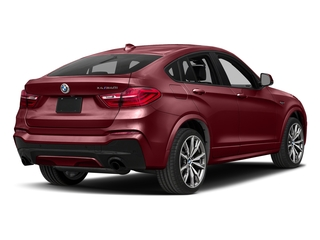 Melbourne Red Metallic 2017 BMW X4 Pictures X4 Utility 4D 28i AWD I4 Turbo photos rear view