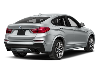 Glacier Silver Metallic 2017 BMW X4 Pictures X4 Utility 4D 28i AWD I4 Turbo photos rear view