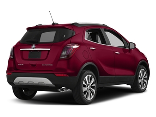 Winterberry Red Metallic 2017 Buick Encore Pictures Encore Utility 4D Essence AWD I4 Turbo photos rear view