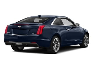 Dark Adriatic Blue Metallic 2017 Cadillac ATS Coupe Pictures ATS Coupe 2D Premium Performance V6 photos rear view