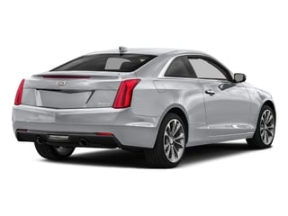 Radiant Silver Metallic 2017 Cadillac ATS Coupe Pictures ATS Coupe 2D Premium Performance V6 photos rear view