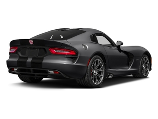 Gunmetal Pearl 2017 Dodge Viper Pictures Viper GTC Coupe photos rear view