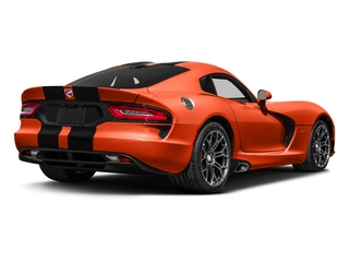 Stryker Orange Tri-Coat Pearl 2017 Dodge Viper Pictures Viper GTC Coupe photos rear view