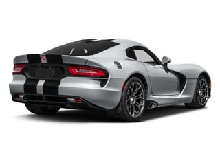 Billet Silver Metallic Clearcoat 2017 Dodge Viper Pictures Viper GTC Coupe photos rear view