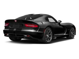 Venom Black Clearcoat 2017 Dodge Viper Pictures Viper GTC Coupe photos rear view