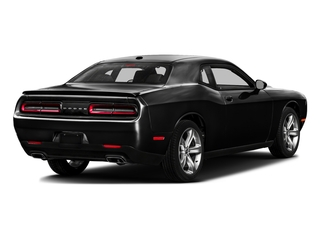 Pitch Black Clearcoat 2017 Dodge Challenger Pictures Challenger SXT Coupe photos rear view