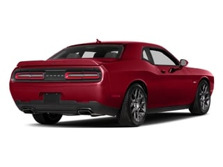Redline Red Tricoat Pearl 2017 Dodge Challenger Pictures Challenger Coupe 2D R/T Plus V8 photos rear view