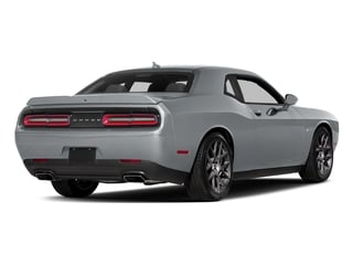 Billet Clearcoat 2017 Dodge Challenger Pictures Challenger Coupe 2D R/T Plus V8 photos rear view