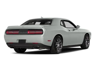 White Knuckle Clearcoat 2017 Dodge Challenger Pictures Challenger Coupe 2D R/T Plus V8 photos rear view