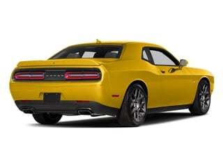 Yellow Jacket Clearcoat 2017 Dodge Challenger Pictures Challenger Coupe 2D R/T Plus V8 photos rear view