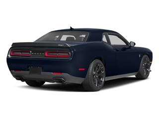 Contusion Blue Pearlcoat 2017 Dodge Challenger Pictures Challenger SRT Hellcat Coupe photos rear view