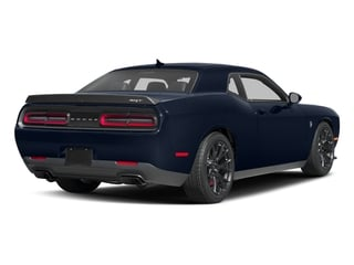 Contusion Blue Pearlcoat 2017 Dodge Challenger Pictures Challenger Coupe 2D SRT Hellcat V8 Supercharged photos rear view