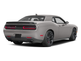 Destroyer Gray Clearcoat 2017 Dodge Challenger Pictures Challenger Coupe 2D SRT Hellcat V8 Supercharged photos rear view