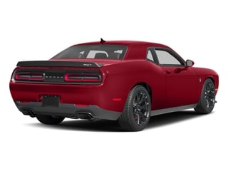 Redline Red Tricoat Pearl 2017 Dodge Challenger Pictures Challenger SRT Hellcat Coupe photos rear view