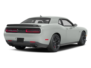 White Knuckle Clearcoat 2017 Dodge Challenger Pictures Challenger SRT Hellcat Coupe photos rear view