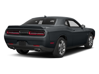 Maximum Steel Metallic Clearcoat 2017 Dodge Challenger Pictures Challenger Coupe 2D GT AWD V6 photos rear view