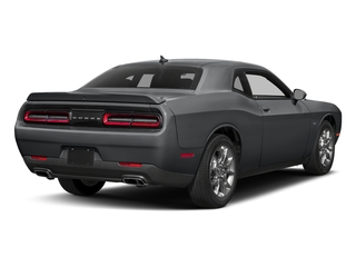 Granite Pearlcoat 2017 Dodge Challenger Pictures Challenger Coupe 2D GT AWD V6 photos rear view