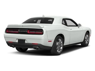 White Knuckle Clearcoat 2017 Dodge Challenger Pictures Challenger Coupe 2D GT AWD V6 photos rear view