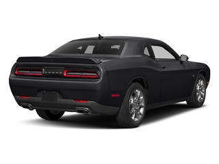 Pitch Black Clearcoat 2017 Dodge Challenger Pictures Challenger Coupe 2D GT AWD V6 photos rear view
