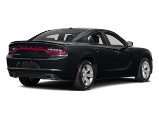 Maximum Steel Metallic Clearcoat 2017 Dodge Charger Pictures Charger Sedan 4D SE V6 photos rear view